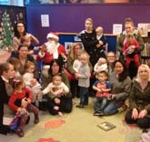 Castle Vale Library at Christmas