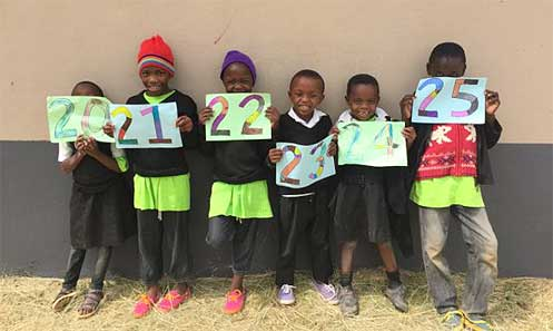 Children can now count up to 25